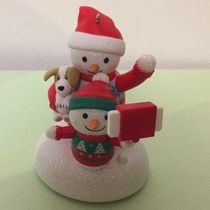 Hallmark Keepsake ornament Cozy Christmas Selfie